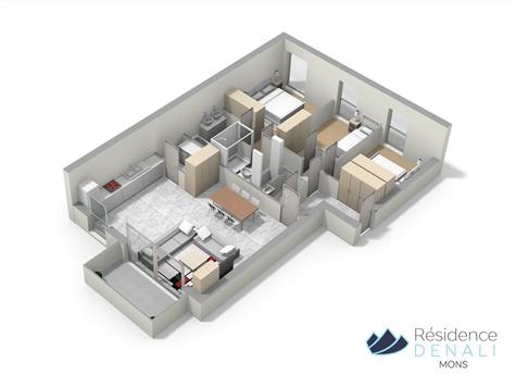 Appartement te koop in Mons (VAJ41123)