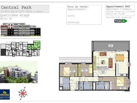 Flat - Apartment for sale in Marche-en-Famenne (VAL31993)
