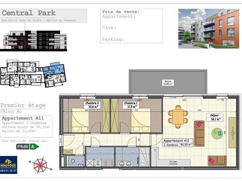 Flat - Apartment for sale in Marche-en-Famenne (VAL32014)