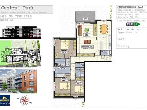 Appartement te koop in Marche-en-Famenne (VAL32001)