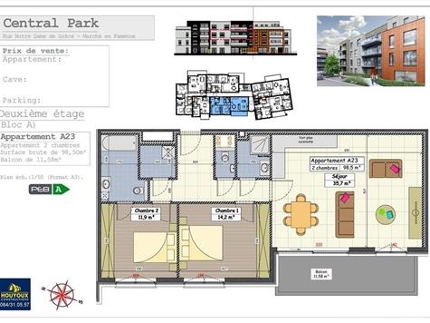 Flat - Apartment for sale in Marche-en-Famenne (VAL32005)
