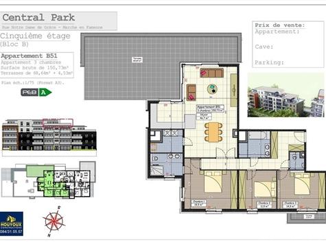 Penthouse for sale in Marche-en-Famenne (VAL31991)