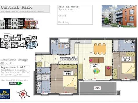 Flat - Apartment for sale in Marche-en-Famenne (VAL32004)
