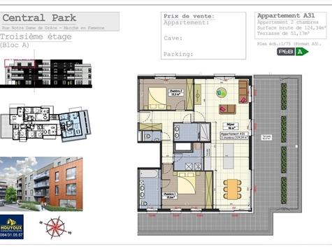 Penthouse te koop in Marche-en-Famenne (VAL32006)
