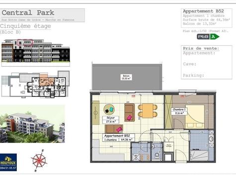 Flat - Apartment for sale in Marche-en-Famenne (VAL31998)