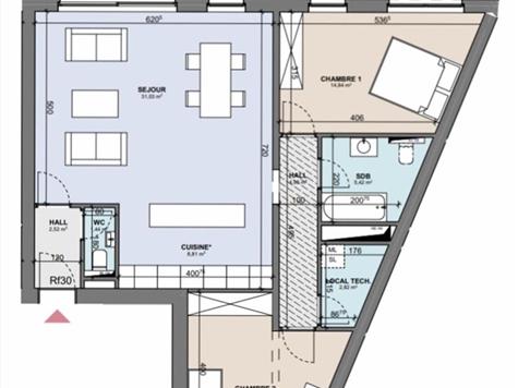 Flat - Apartment for sale in Boncelles (VAM02013)