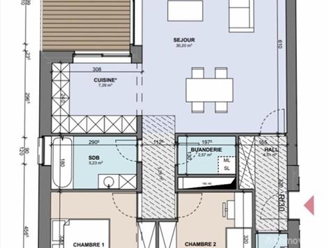 Flat - Apartment for sale in Boncelles (VAM02016)
