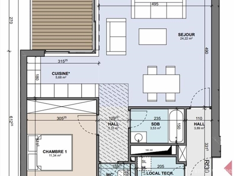 Flat - Apartment for sale in Boncelles (VAM02024)
