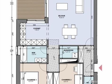 Flat - Apartment for sale in Boncelles (VAM02020)
