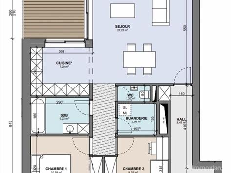 Flat - Apartment for sale in Boncelles (VAM02034)
