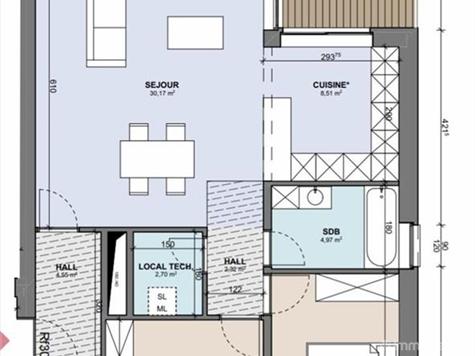 Flat - Apartment for sale in Boncelles (VAM02019)