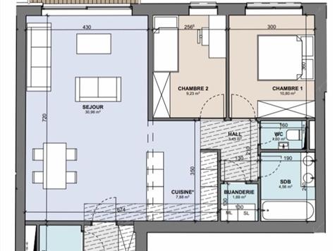 Flat - Apartment for sale in Boncelles (VAM02033)