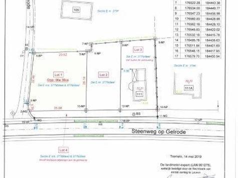 Terrain à bâtir à vendre à Rotselaar (RAP78635)