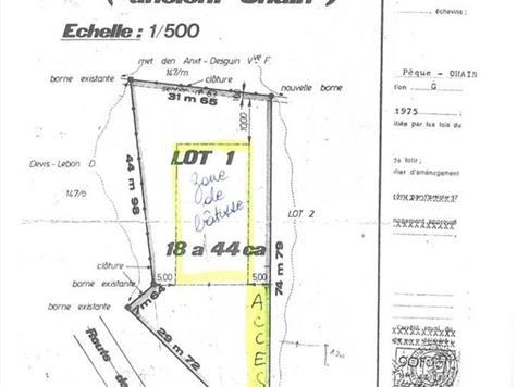 Terrain à bâtir à vendre à Ohain (VAF11765) (VAF11765)