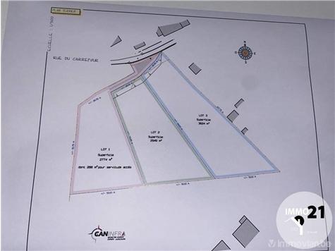 Terrain à bâtir à vendre à Jemeppe (VAM02498)