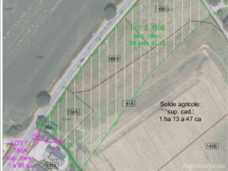 To parcel out site for sale Hamois (VWC90393)