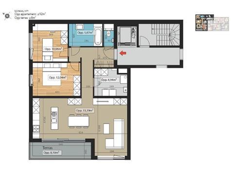 Appartement te koop - 8500 Kortrijk (RAH27158)