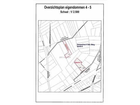 Farmland in public sale - 1910 Kampenhout (RAH55741)