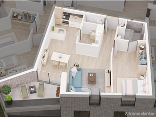 Flat - Apartment for sale Asse (RAO36202)