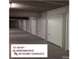 Parking à vendre Blankenberge (RAJ71296)
