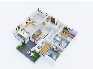 Appartement à vendre Scherpenheuvel-Zichem (RAP92422)