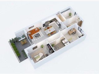 Flat - Apartment for sale Scherpenheuvel-Zichem (RAP92453)