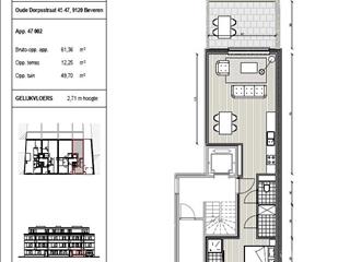 Appartement à vendre Vrasene (RAQ47205)