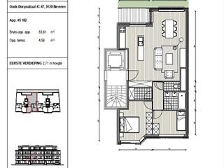 Appartement à vendre Vrasene (RAQ47207)