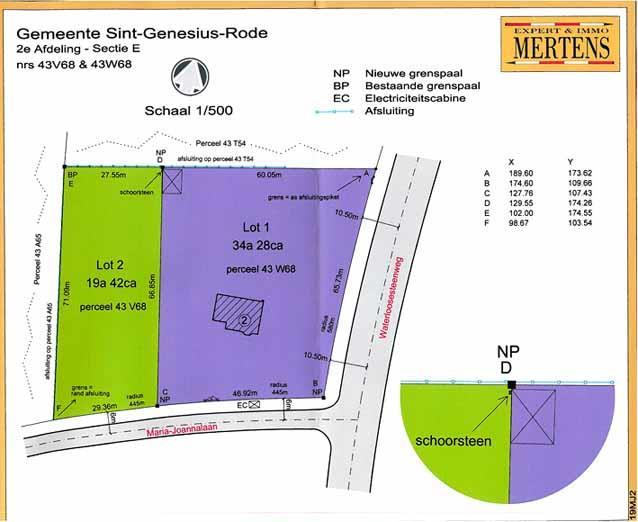 Development site in public sale Sint-Genesius-Rode (RAJ14279)