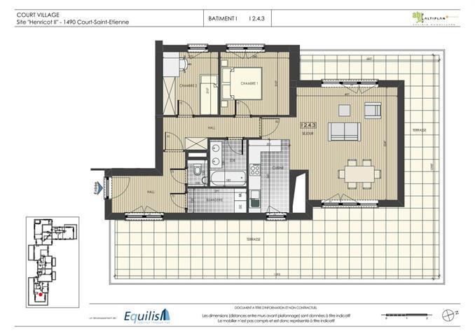 Appartement à vendre Court-Saint-Étienne (VAG28478)